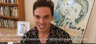 4-Week Unlocking Creativity Writing Course - Review