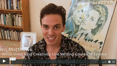 4-Week Unlocking Creativity Writing Course - Review