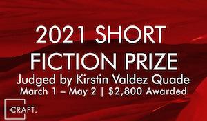 Craft Short Story Prize 2021
